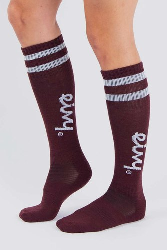 Eivy Socks-under Knee Wine