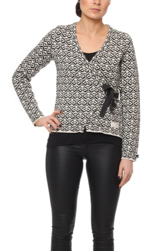 Odd Molly LONGING CARDIGAN ALMOST BLACK