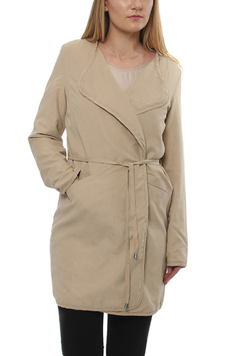VIEMMELY CHIC COAT SOFT CAMEL
