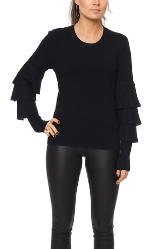 Vila VIMINTE L/S KNIT TOP TOTAL ECLIPSE