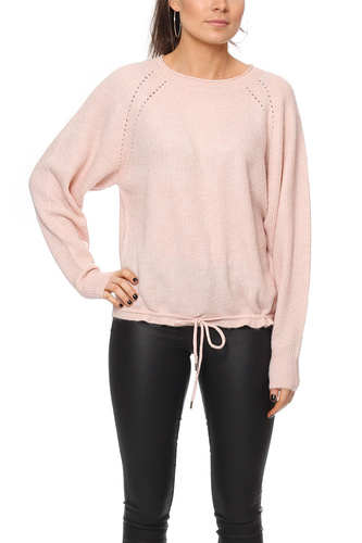 Vila VISIMI L/S KNIT TOP PEACH BLUSH