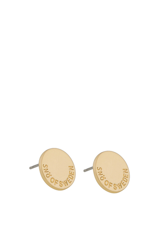 Remy Ear Round Plain Gold