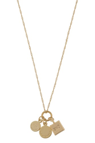 Remy Pendant Neck 40 Gold