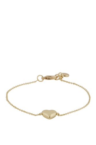 Snö of Sweden Small Heart Chain Brace Gold