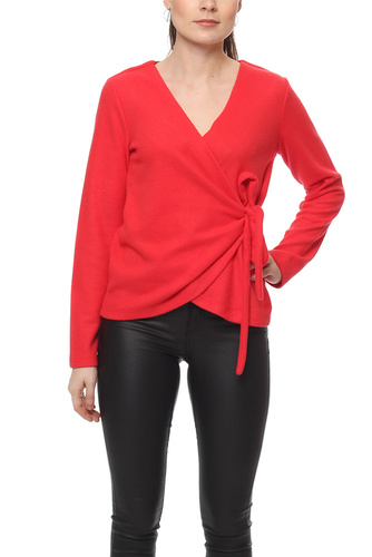 Vila VIPALONA L/S WRAP TOP LOLLIPOP