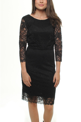 Vikaren Dress Black