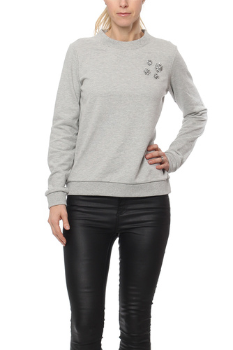 Vila VIMISTA L/S EMBELLISHMENT LGM SOUTH