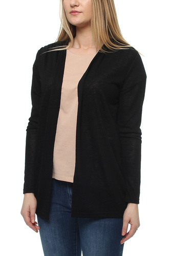 Vila VISUMI CARDIGAN BLACK