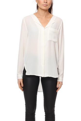 Selected Femme SFDYNELLA LS SHIRT CREAM