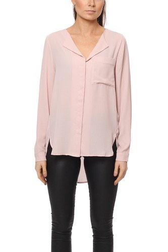 Selected Femme SFDYNELLA LS SHIRT SEPIA ROSE