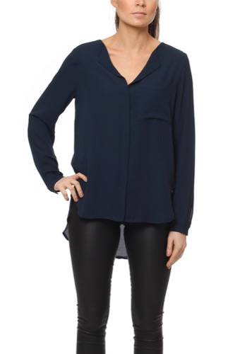 Selected Femme SFDYNELLA LS SHIRT NAVY BLAZER