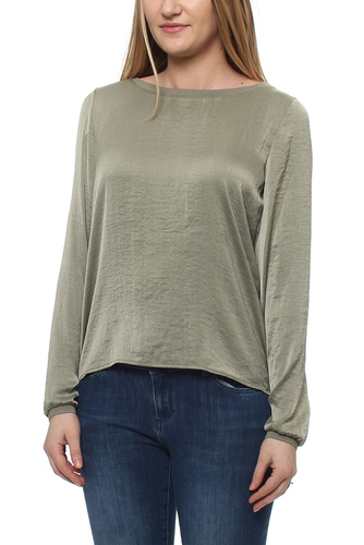 Virustic L/s Simple Top Vetiver South