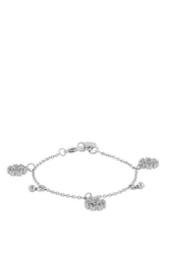 Snö of Sweden MANDY CHARM BRACE SILVER/CLEAR