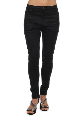 FiveUnits Jolie 274 Coated Pant Black Coated