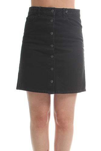 Viliga Denim Skirt/1 Black