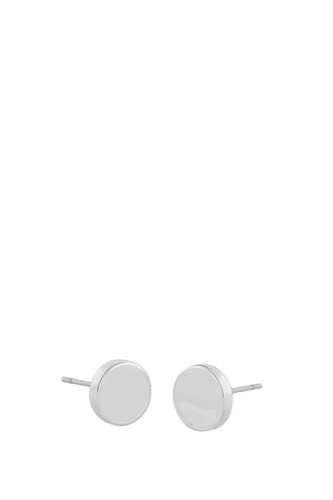 Snö of Sweden Moe Ear 12mm Plain Silver