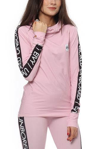 Eivy ICECOLD HOOD TOP DUSTY PINK