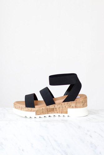 Steve Madden Bandi Slipper Black