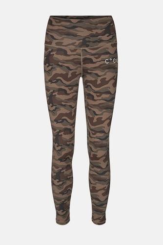 CO'COUTURE Camo Tights Army
