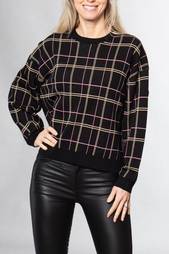 Dagmar Kayla Black Check