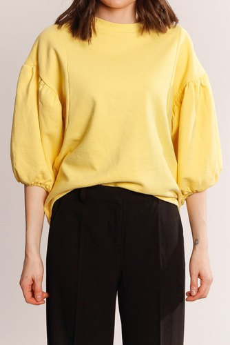 Vila Viabelo 2/4 Sweat/rx Sunshine