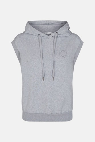 CO'COUTURE Rush Hoodie Vest Light Grey
