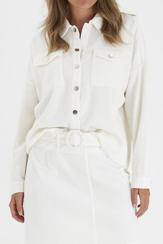 B.YOUNG Bydanna Shirt Off White