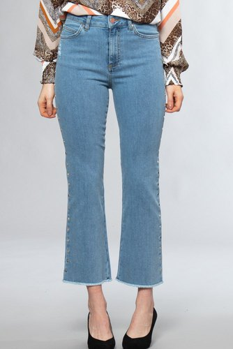 Notes du Nord Kayla Cropped Jeans Light Blue