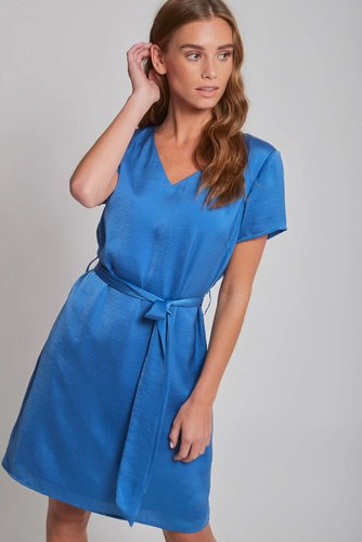 Dry Lake Mindy Dress Royal Blue