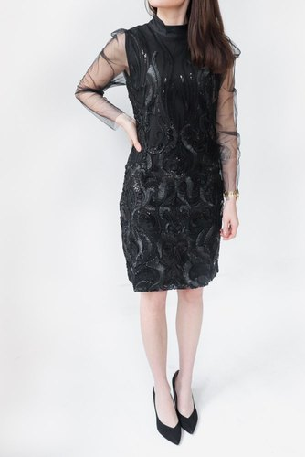 YAS Yasavia Ls Dress Black