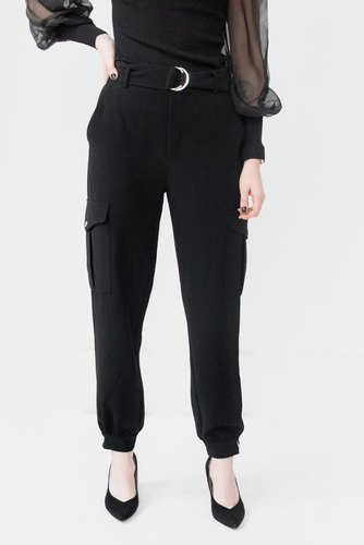CO'COUTURE Carrie Utility Joggers Black