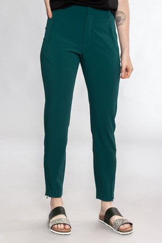 InWear Nica No Rib Pant Warm Green