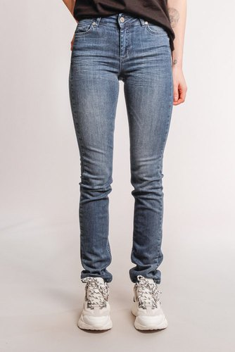 Denim Hunter The Celina High Custom Blue Wash
