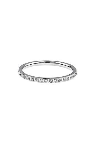 Elena Small Ring M Clear