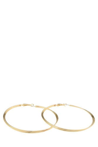 Snö of Sweden Mila Ring Ear 80mm Plain Gold