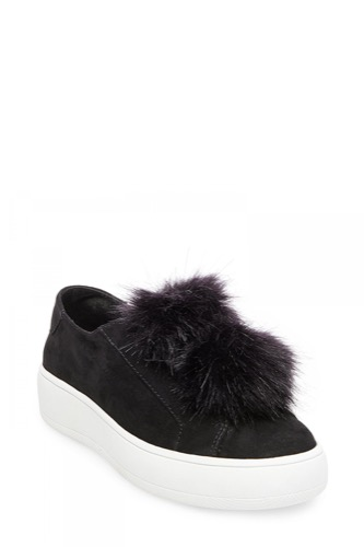 Steve Madden BRYANNE SLIP-ON BLACK