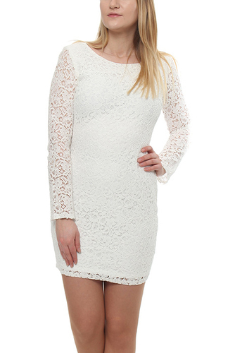 Petite Sleevedress Wonder White Lace
