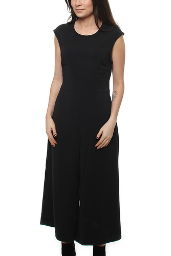 Vimelis Cropped Jumpsuit Black