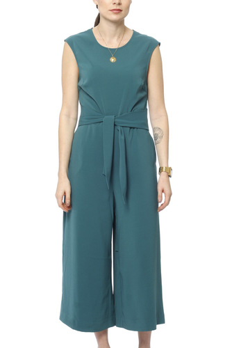 Vila Vimelis Cropped Jumpsuit Bayberry