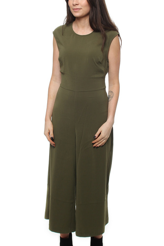 Vimelis Cropped Jumpsuit Ivy Green