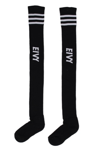 Eivy Alpine Socks-over Knee Black