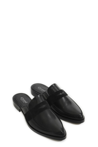 D Brand Brooklyn Slipper Black