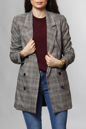 Vila Viclarina Blazer Oak Brown