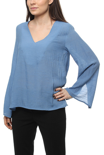Elvira Top Stone Blue