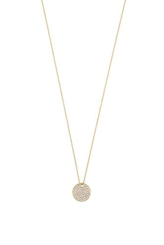 Snö of Sweden Corinne Pendant Neck 42 Gold Clear