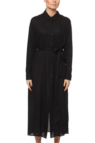 Rut & Circle Smila Long Shirt Black