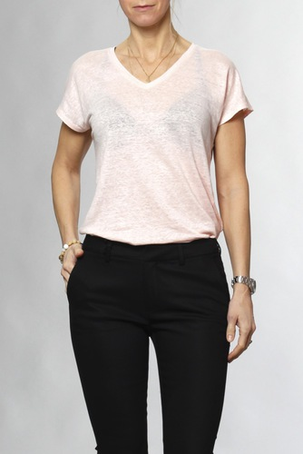 InWear Faylinn V T-shirt Rose Quartz