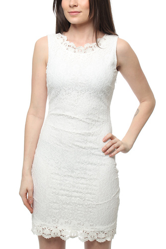 TRUE LOVE V DRESS WHITE