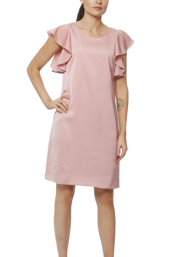 Dry Lake Madison Dress Dusty Pink