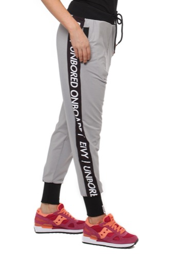 Eivy PANTS- HARLEM TRAINING GREY MELANGE